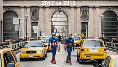 It Impressed me how in the Avengers 4 set photos Chris Evans did the exact same pose