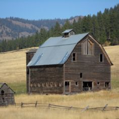 I love this old barn, it is in Eastern WA