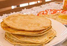 Zabpehelylisztes amerikai palacsinta Top 15, Healthy Sweets, Main Dishes, Pancakes, Paleo, Breakfast, Ethnic Recipes, Food, Entrees