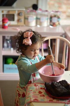 liesl in her kitchen