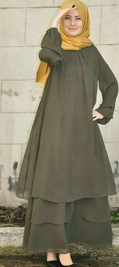 Abaya Turkish Fashion, Islamic Fashion, Muslim Fashion, Modest Fashion, Muslim Dress, Hijab Dress, Modele Hijab, Mode Abaya, Casual Hijab Outfit