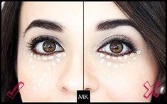 ¿Cuál es la diferencia entre corrector e iluminador? Consejos de aplicación Corrector Mary Kay, Halloween Face Makeup, Make Up, Beauty, Key, Facebook, Make Up Looks, How To Apply Concealer, Best Under Eye Cream