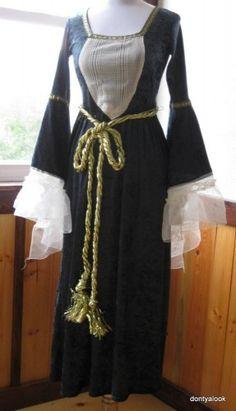 Guinevere Fay Renaissance Medieval Dress Costume