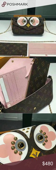 Louis Vuitton Monogram canvas Pochette Felicie Size W21?H11?D2cm Comes with serial number, care booklet, Louis Vuitton dust bag, and authenticity card Bags
