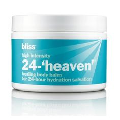 10. high intensity 24-'heaven'     Another 2012 launch this luxurious healing body balm is perfect for keeping you silky soft through winter.