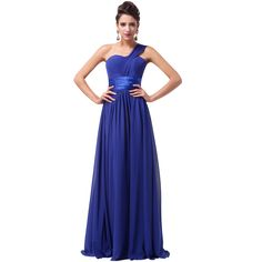 Cheap dress philippines, Buy Quality dress japanese directly from China dress sofa Suppliers:          Free Shipping Grace Karin Stock One Shoulder Chiffon Prom Gown Formal Party Dresses Long Evening Dress Roy