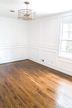 Everything you need to know to refinish hardwood floors | Minwax Provincial Stain sealed with Minwax Fast-Drying Satin Polyurethane