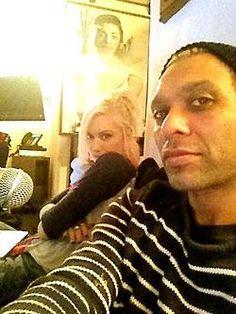 2 of my favorite people -Gwen stefani & Tony Kanal.