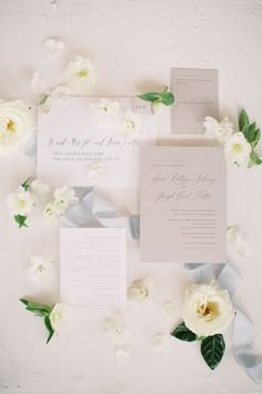 "From the editorial ""This Last Minute Decision Ended Up Being One Bride's Favorite Part Of Her Wedding."" They decided on a modern garden palette with grey as the accent color. We just adore how the invites came out!  Photography: @devondonnahoophoto Invitation Suite: @sweetpaper  #weddinginvitation #weddinginvites #invitationsuite #neutralinvitations #gardenwedding Original Wedding Invitations, Affordable Wedding Invitations, Wedding Invitation Inspiration, Beautiful Wedding Invitations, Wedding Invitation Suite, Wedding Stationary, Wedding Inspiration, Vintage Wedding Theme, Our Wedding"