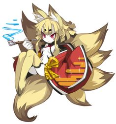 Izuna from Disgaea 5.  Photo courtesy of Disgaea wikia.