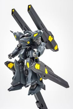 Custom Build: HGBF 1/144 Kampfer Amazing + Extra Weapon Binders - Gundam Kits Collection News and Reviews