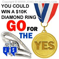 ►► WIN A 10K DIAMOND RING - GO FOR THE YES! ►► Jewelry Secrets