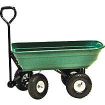 Craftsman 3.5 cu. ft. RealBarrow Cart/Work Wagon - Lawn & Garden - Outdoor Tools & Supplies - Wheelbarrows & Garden Carts