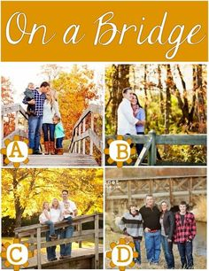 I love having the family portraits done in autumn, the colors are always spectacular! These creative Fall Family Photo Ideas are perfect for our photos this year.