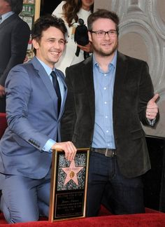 James Franco, Seth Rogen why they're so funny...love em