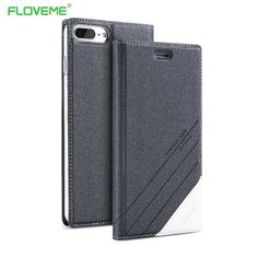 FLOVEME Flip Leather Case For Samsung Galaxy S8 Flip Phone Case ccfe08aa7131
