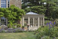 Orangery For A Country House: Classic Conservatory by Vale Garden Houses