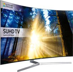 Samsung 7 Series Flat SUHD with Quantum Dot Display TV . Please note this TV does not come with the stand, does come with the original remote. Collection in person only from Kensington, London. Curved Led Tv, Lg 4k, Hd Samsung, Ultra Hd 4k, 360 Design, All Tv, Tv Reviews, 4k Uhd, Home Entertainment