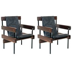 Pair of  IAB Auditorium Chairs  by Sergio Rodrigues ...  sc 1 st  Pinterest & 35 best Chair by Sergio Rodrigues images on Pinterest | Armchairs ...