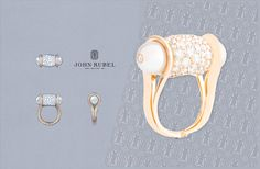 Ginger. This ring is made of rose gold, diamonds and Akoya pearls. @John Rubel