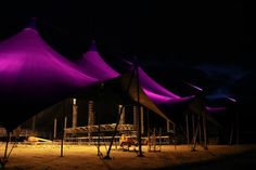 Northern Lights installation at Arena Stage during #RF13 #RoskildeFestival #Denmark. #allgoodthings #danish spotted by @missdesignsays