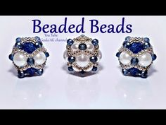 Sfera di perline per orecchini, bracciali, collane - YouTube Beaded Bead, Beaded Jewelry, Handmade Jewelry, Shoe Makeover, Make Tutorial, Right Angle Weave, Diy Jewelry Making, Bead Patterns, Tassels
