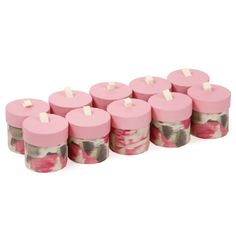 Wedding floral round favour boxes - pack of 10 - Wedding decorations - Home & Kitchen - Gifts & Home