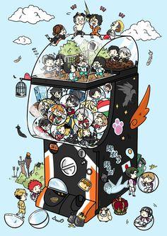 Best Collection of funny yamaguchi pictures on iFunny Manga Haikyuu, Haikyuu Karasuno, Haikyuu Funny, Haikyuu Fanart, Haikyuu Ships, Kuroo, Kenma, Kagehina, Anime Chibi
