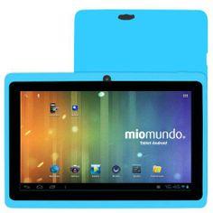 "MioMundo Tablet Android Q07 con Doble Cámara. Allwinner A13 Cortex A8 de 1,2Ghz. RAM 512Mb. ROM 4Gb. Pantalla 7"" Capacitiva Multitáctil. Resolución 800x 480. Android 4.0. ¡REGALO!: Funda de protección para niños en color azul celeste y puntero. B00FRJ3BOG - http://www.comprartabletas.es/miomundo-tablet-android-q07-con-doble-camara-allwinner-a13-cortex-a8-de-12ghz-ram-512mb-rom-4gb-pantalla-7-capacitiva-multitactil-resolucion-800x-480-android-4-0-regalo-funda-de-prot-12."