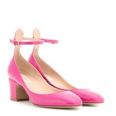 Block-Heel-Pumps Tango Aus Leder   Valentino * mytheresa.com