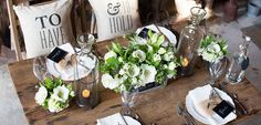 To Have And To Hold Rustic Table