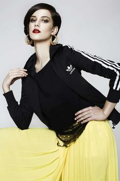 Glamorously Sporty Fashion - The Rumours Magazine 'Accente Sport' Editorial Stars Ioni Muresan (GALLERY)
