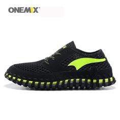5154ee9d57b Onemix men's running shoes arch sneakers breathable women's wading shoes  weaving lazy sport shoes unisex sneakers size EU36 45-in Running Shoes from  Sports ...