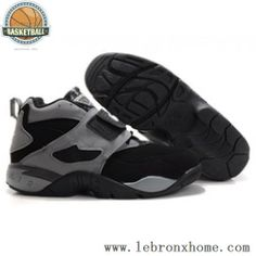 Nike Air Diamond Turf II Varsity Grey Black Shoes