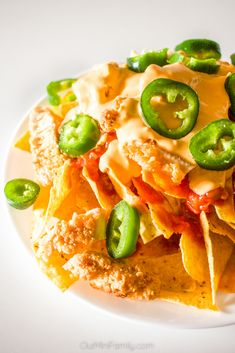 Bring the heat with these chicken game day nachos! ad