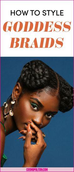 These Goddess Braids Are Downright Mesmerizing - Cosmopolitan.com