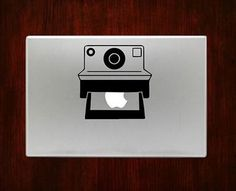 Polaroid Camera Macbook Pro / Air 13 Decal Stickers