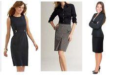 saias e vestidos para entrevista de emprego