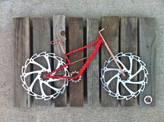 Bike Art by TheBikeFund on Etsy, $175.00