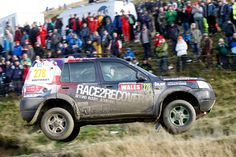 Wales Rally GB: Tony Harris/Andrew Smallridge. Pic: Jakob Ebrey Land Rover Freelander, Range Rover, Cars And Motorcycles, Rally, 4x4, Jeep, Transportation, Monster Trucks, Racing
