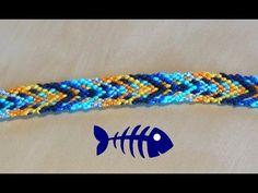 Bracelet Brésilien Fishbone arête de poisson (débutant) - YouTube