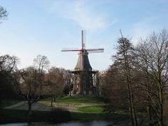 Windmill in Bremen, Germany