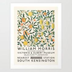 William Morris Art, Art Exhibition Posters, Design Textile, Illustrations, Victoria And Albert Museum, Canvas Prints, Art Prints, Lino Prints, Diy Frame