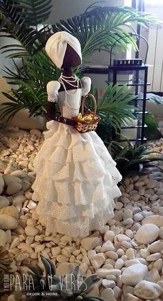 Diy Voodoo Dolls, Paper Dolls, Art Dolls, Diy Craft Projects, Diy Crafts, Yoruba Religion, African Dolls, Newspaper Crafts, Sewing Aprons