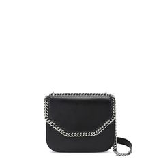 Shop the Black Falabella Box Shoulder Bag by Stella Mccartney at the official online store. Discover all product information.