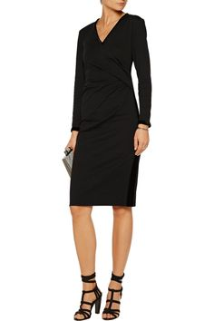 Shop on-sale Raoul Dilara draped velvet-trimmed cotton-blend jersey dress. Browse other discount designer Dresses & more on The Most Fashionable Fashion Outlet, THE OUTNET.COM