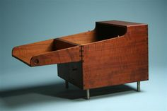 Bar, Cube bar. Designed by Hans Wegner for Andreas Tuck