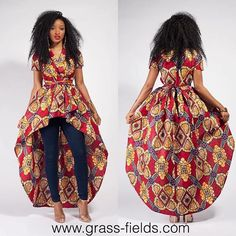 10 Trendy Ankara Styles And Dresses For Ladies Wardrobe African Print Fashion, African Fashion Dresses, Ethnic Fashion, Fashion Outfits, Womens Fashion, African Attire, African Wear, African Dress, African Tops