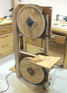 Building a bandsaw: Making the frame