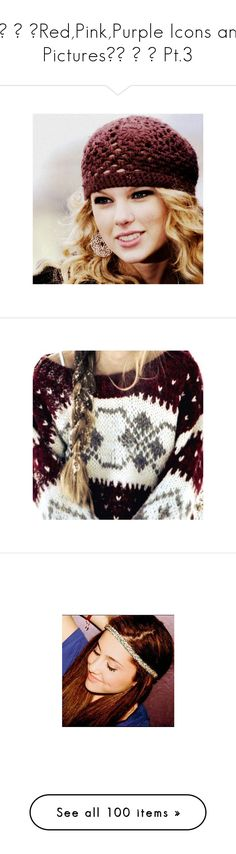 """✩♥ ♡ ❤Red,Pink,Purple Icons and Pictures✩♥ ♡ ❤ Pt.3"" by ramdom-jackie ❤ liked on Polyvore featuring taylor swift, icons, celebrities, pictures, icon pictures, icon pics, & pictures, ariana grande, ariana and celebs"